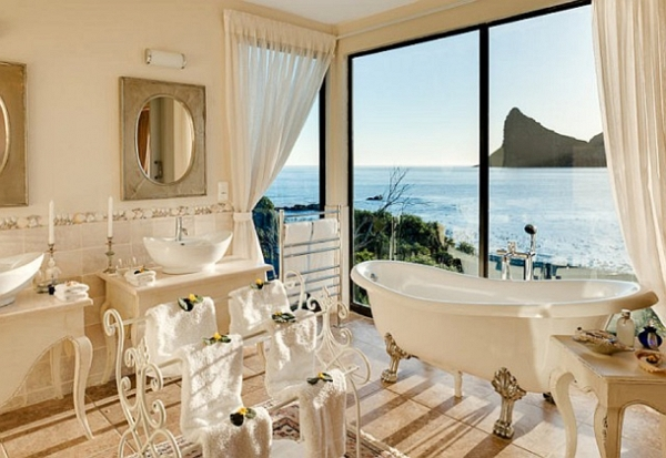 Tintswalo Atlantic Bathtub View