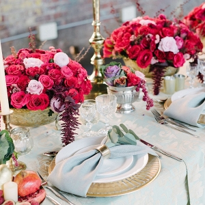 Luxe Floral Table Decor