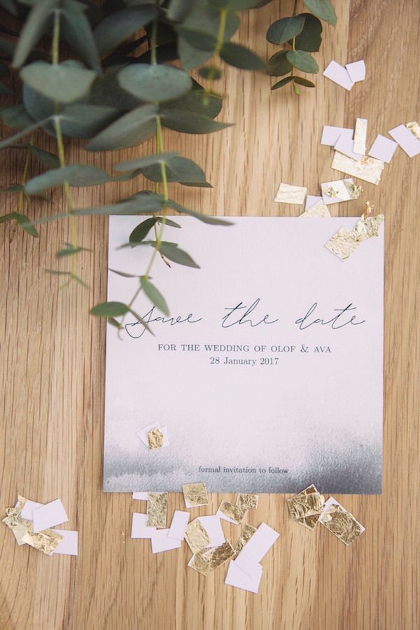 Watercolor Wedding Invitation