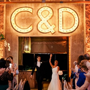 Industrial Monogram Marquee Lights