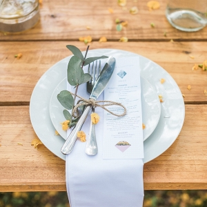 Simple Rustic Place Setting