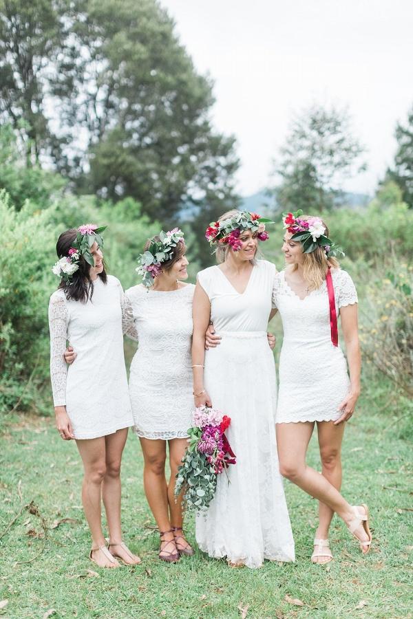 c4549a884 Informal Forest Feast Wedding - Aisle Society