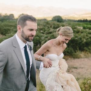 Inbal Dror Beaded Wedding Gown