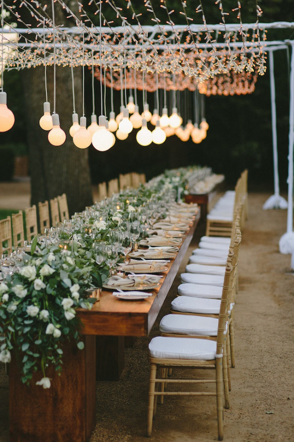 Intimate Outdoor Reception