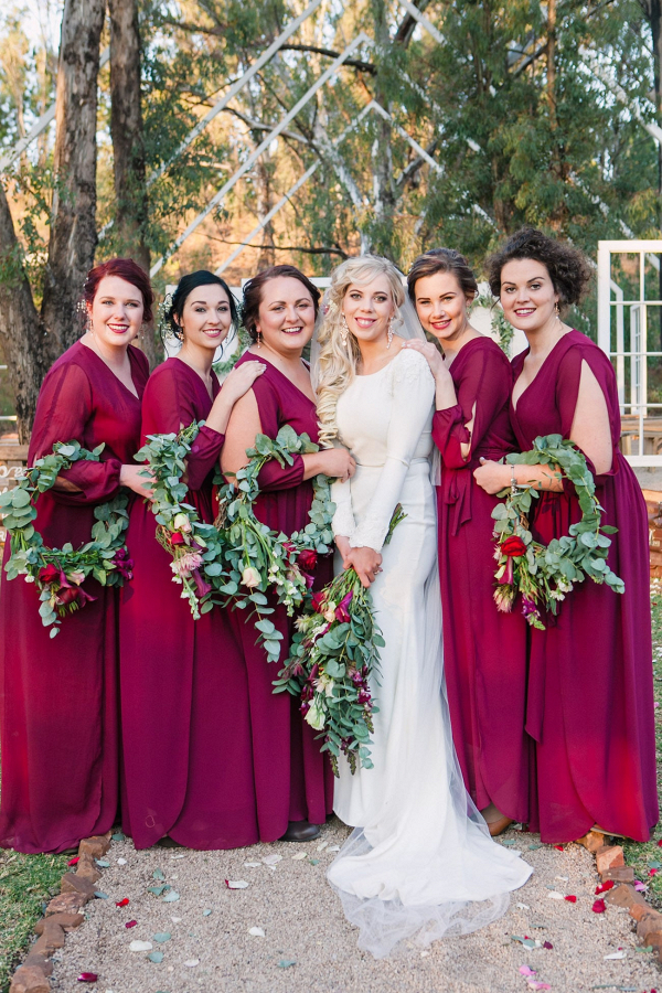Jewel Tone Bridesmaid Dresses