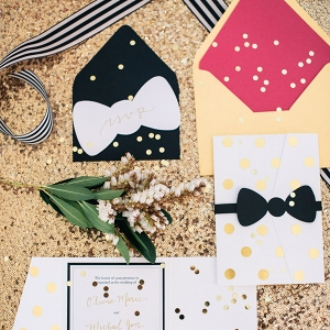 Kate Spade Inspired Stationery Suite