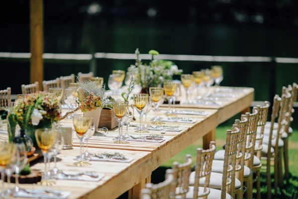 Contemporary Rustic Table Decor