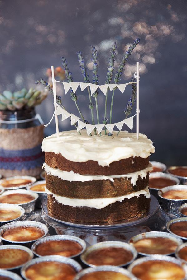 Simple DIY Naked Cake