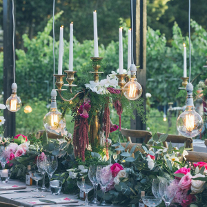 Midsummer Nights Dream Wedding Decor