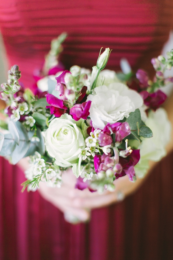 Marsala Bridesmaid