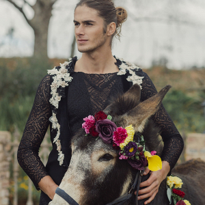 Groom with Donkey