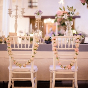 Rose Chair Garlands