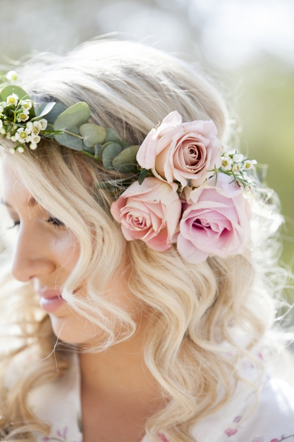 Bridesmaid Floral Crown