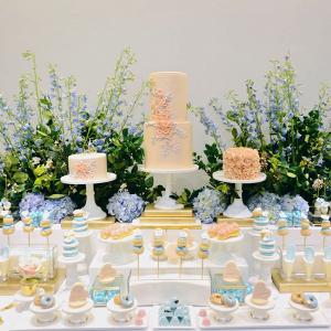 Pastel Dessert Display
