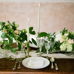 Elegant Natural Place Setting