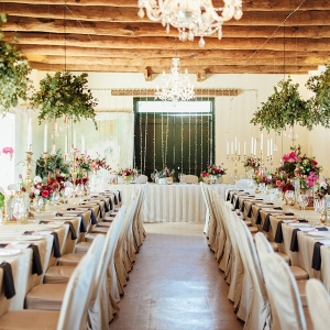 Rustic Organic Wedding Reception Decor