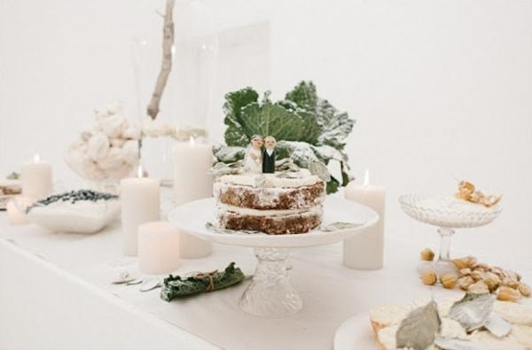 Organic Dessert Display