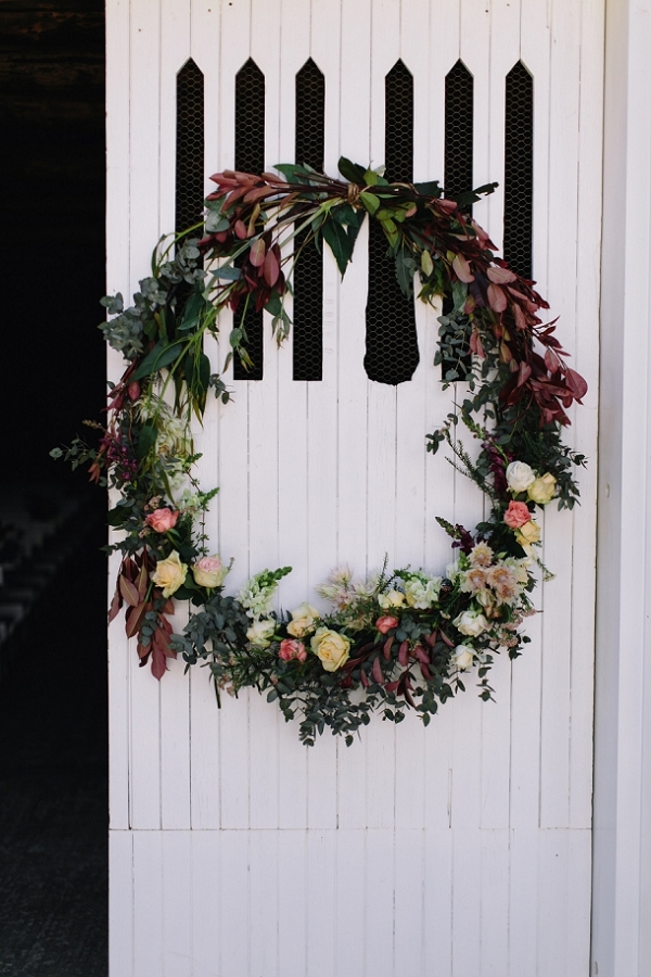Jewel Tone Wreath