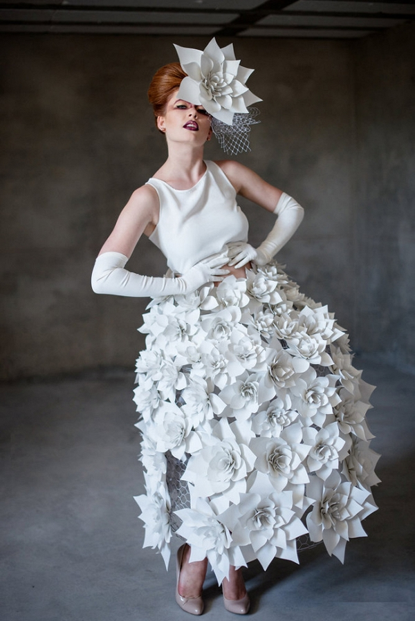 Paper Couture Wedding Inspiration - Aisle Society