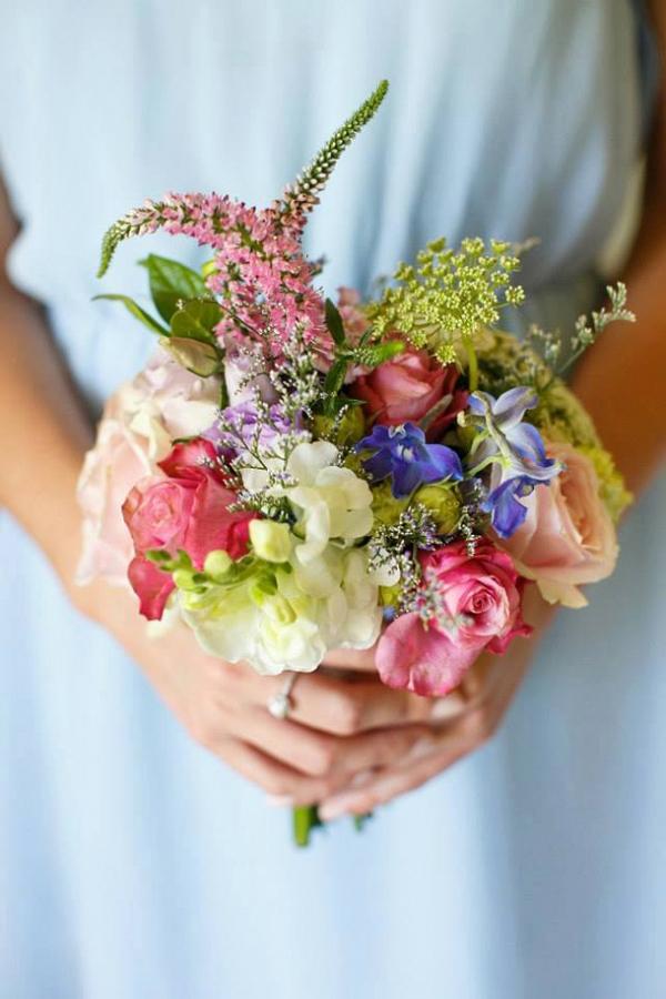 Pastel Bridesmaids Bouquet