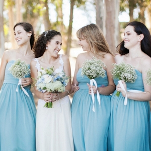 Blue Pastel Wedding Dresses