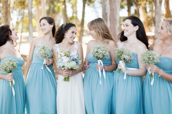 Blue Pastel Wedding Dresses
