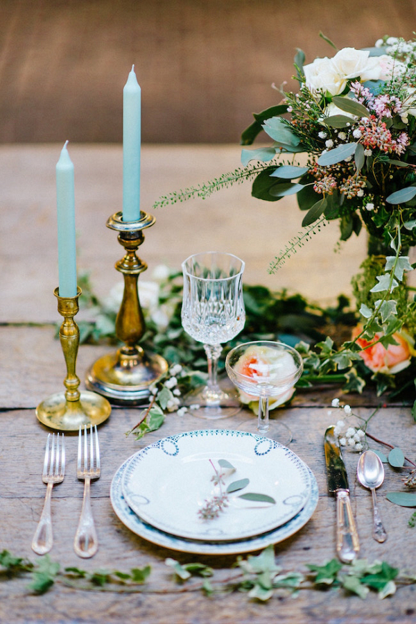 Vintage Style Table Setting