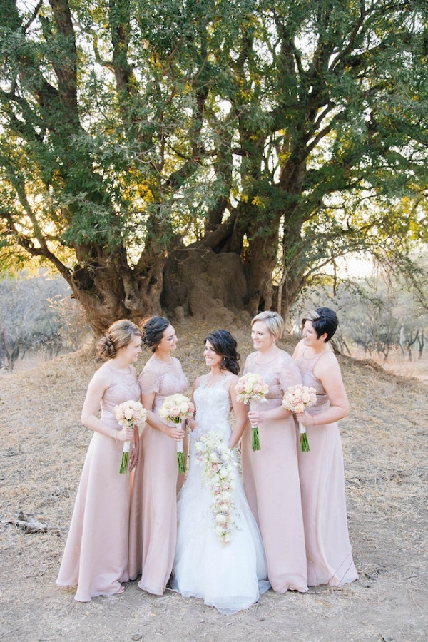 Blush Bridesmaids