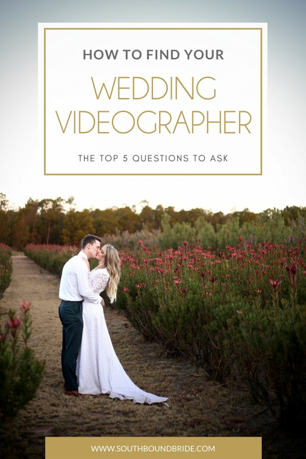 How to Find Your Wedding Videographer