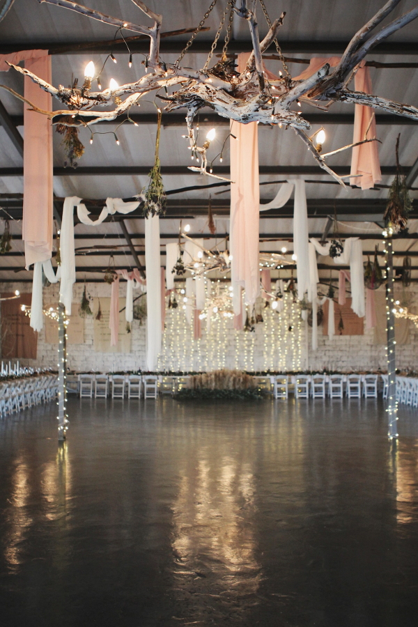 Reception Decor with Draping