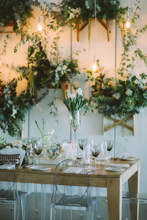Elegant Rustic Table Decor