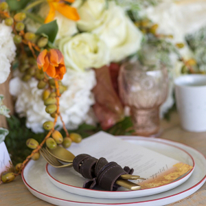 Fall Harvest Place Setting