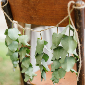 Greenery Chair Decoration