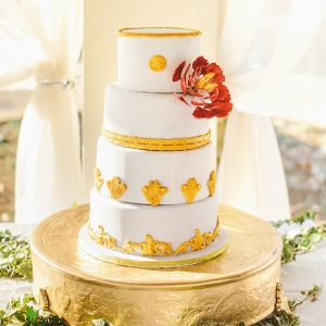 Ornate Wedding Cake