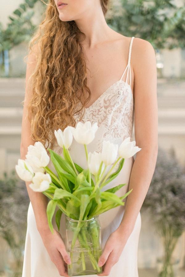 Boudoir with Tulips