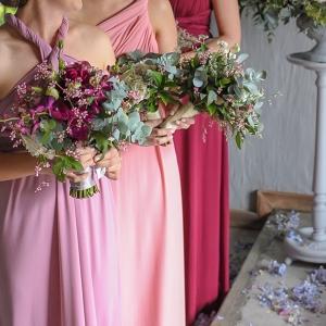 Berry Tone Infinity Bridesmaid Dresses