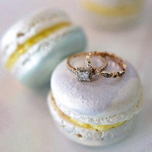 Iridescent Macarons
