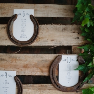 Horseshoe Table Plan Display