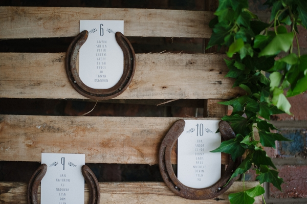Horseshoe Table Plan Display