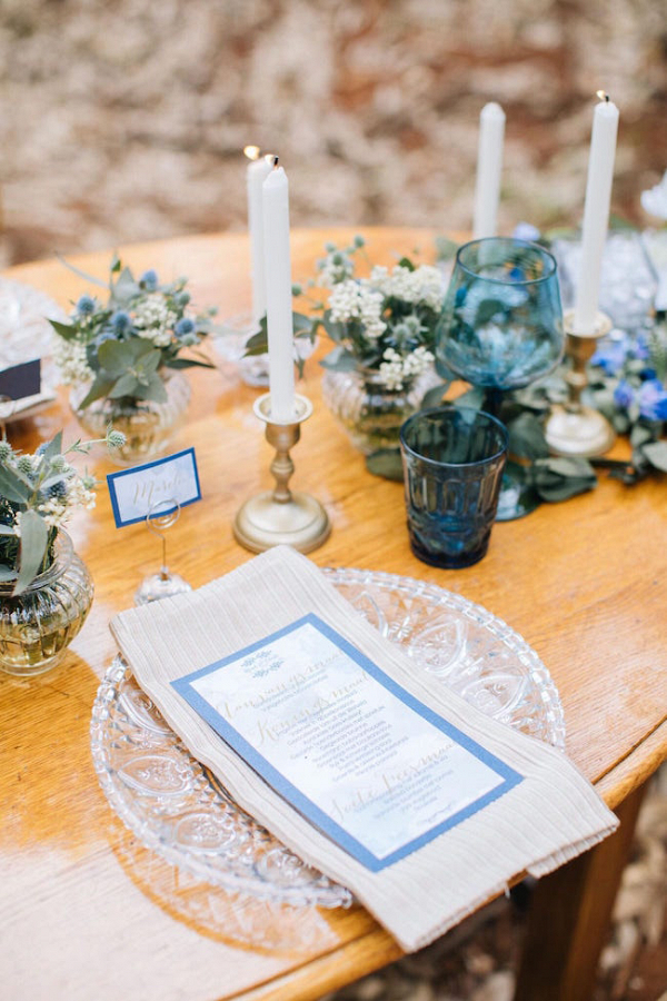Elegant Rustic Table Decor