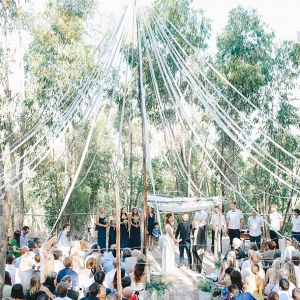 Maypole Wedding Ceremony