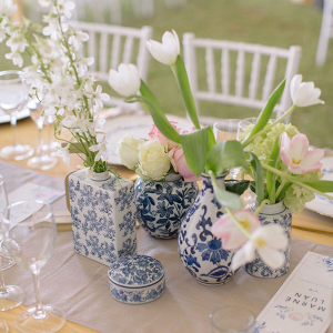 Delftware Centerpiece