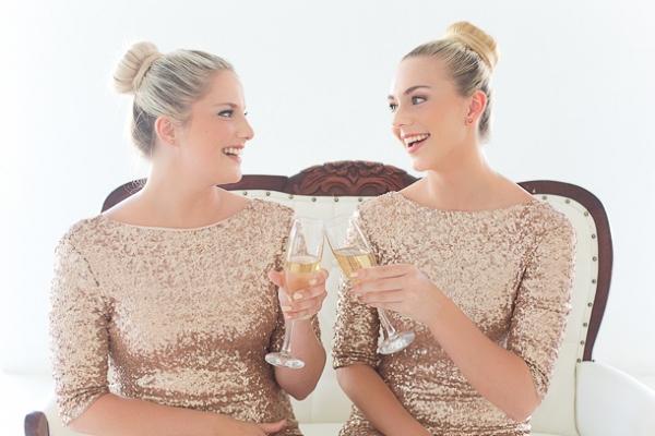 Sparkle Bridesmaid Dresses