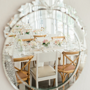 Decorative Mirror Reception Decor