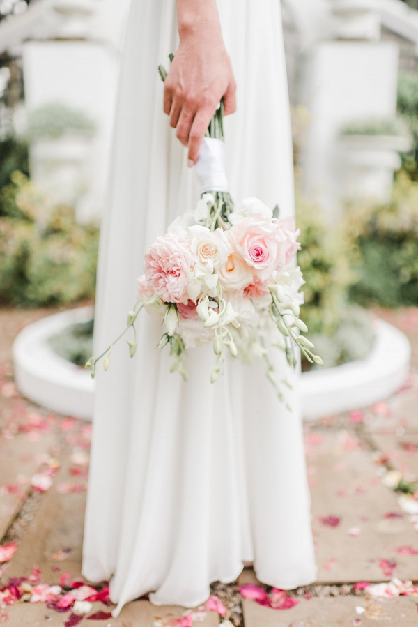 Soft Peach and Pink Bouquet