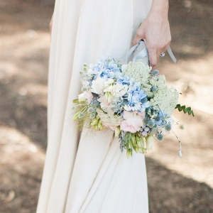 Pastel Blue Bouquet