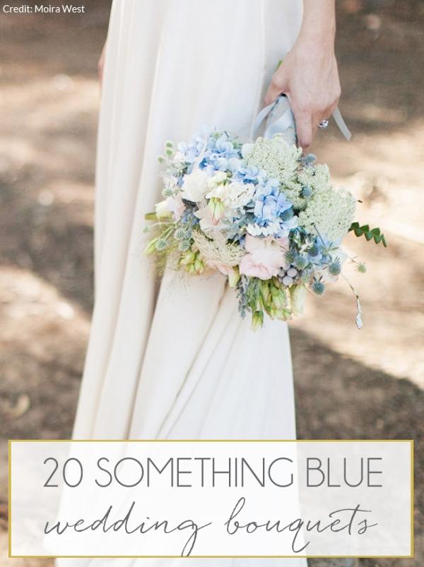 Pastel Blue Bouquet