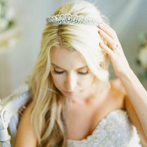Greta Baguette Wedding Tiara