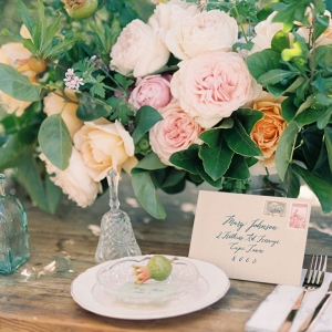 Rustic Romantic Place Setting