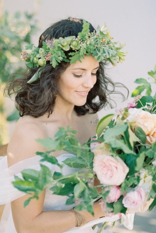 Greenery Floral Crown